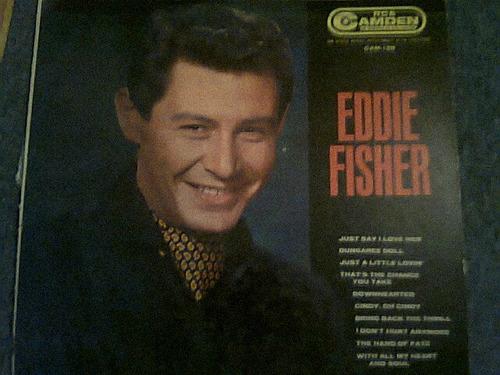 disco acetato de  eddie fisher