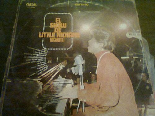 disco acetato de el show de little richard