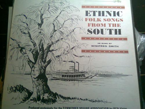 disco acetato de ethnic folk songs from the south