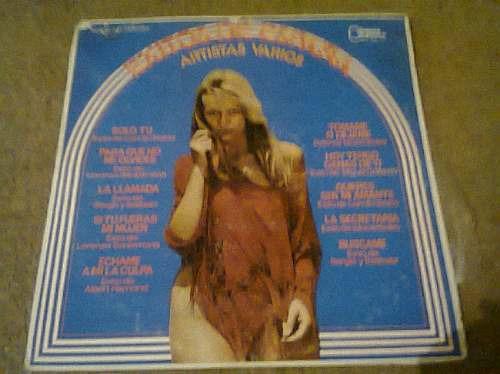 disco acetato de exitos de españa artistas varios