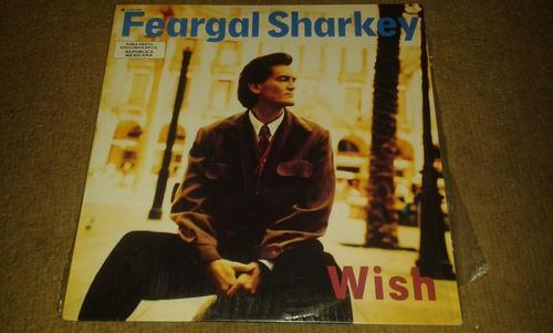 disco acetato de feargal sharkey, wish