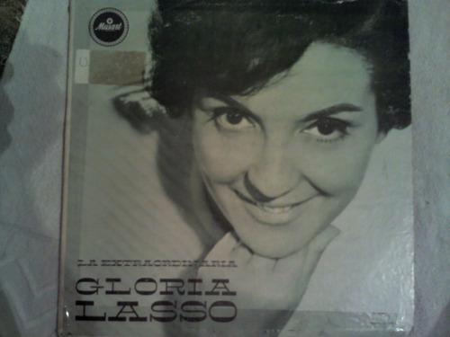 disco acetato de: gloria lasso