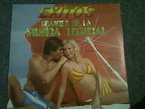 disco acetato de grandes de la musica tropical