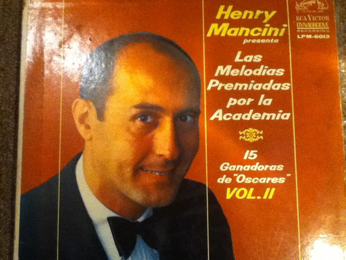 disco acetato de: henry mancini