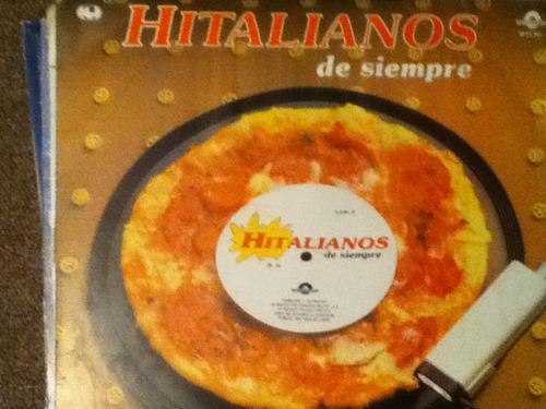disco acetato de: italianos de siempre