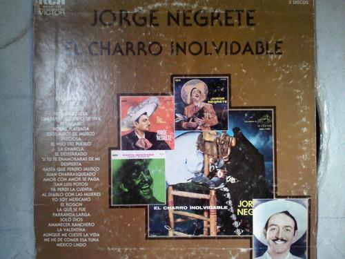 disco acetato de: jorge negrete 3 discos