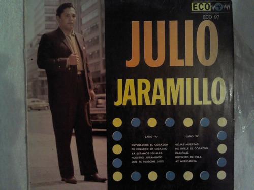 disco acetato de: julio jaramillo