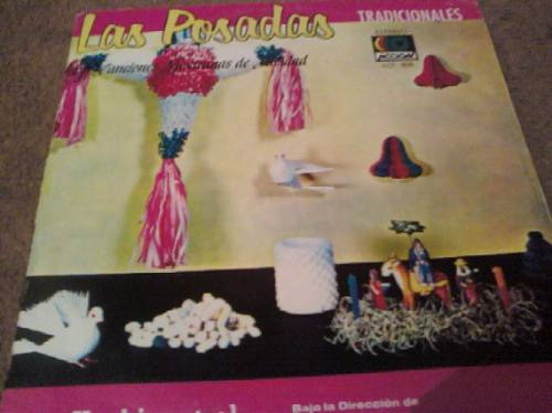 disco acetato de las posadas canciones mexicanas de navidad