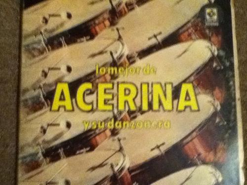 disco acetato de: lo mejor de acerina 3 discos