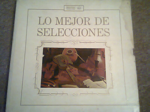 disco acetato de lo mejor de selecciones 9 discos
