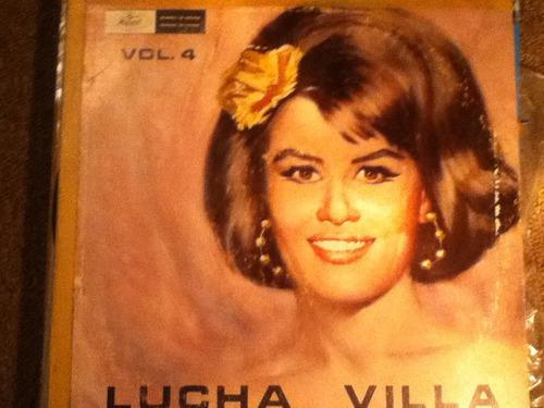 disco acetato de: lucha villa