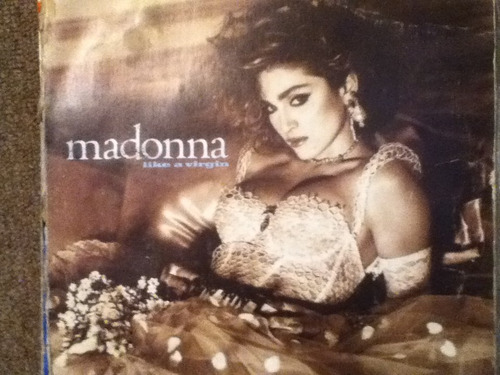disco acetato de: madonna like a virgin