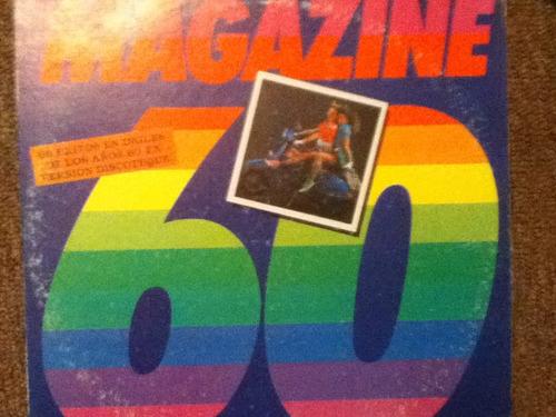 disco acetato de:  magazine 60