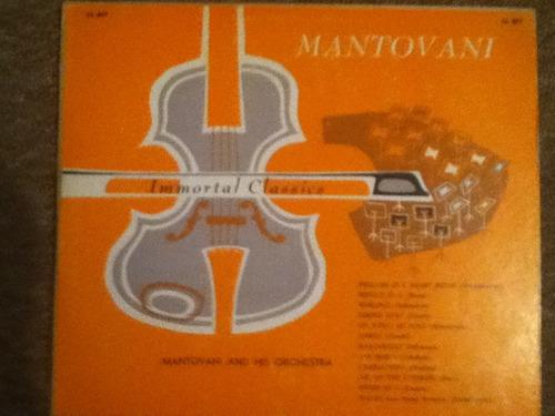 disco acetato de: mantovani