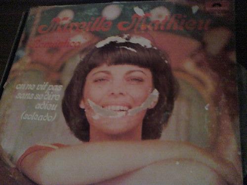 disco acetato de mireille mathieu romantica