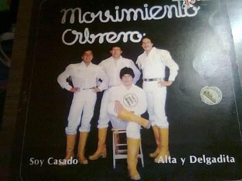 disco acetato de movimiento obrero