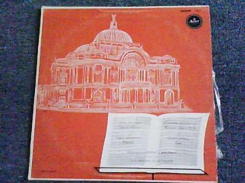 disco acetato de orquesta sinfonica nacional