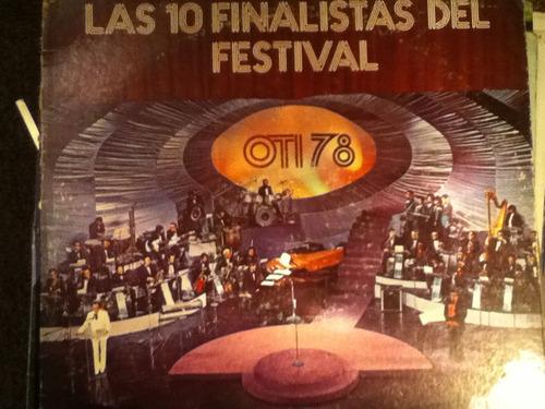 disco acetato de: oti 78