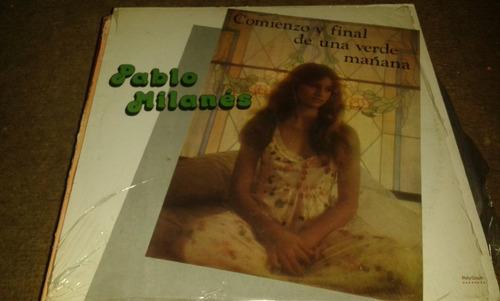 disco acetato de pablo milanes, comienzo y final de una verd