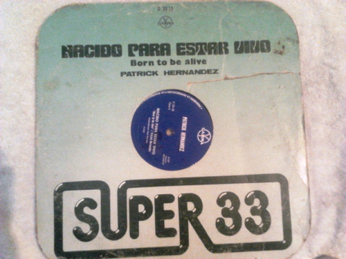 disco acetato de: patrick hernandez