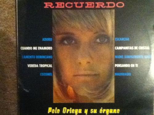 disco acetato de: polo ortega y su organo
