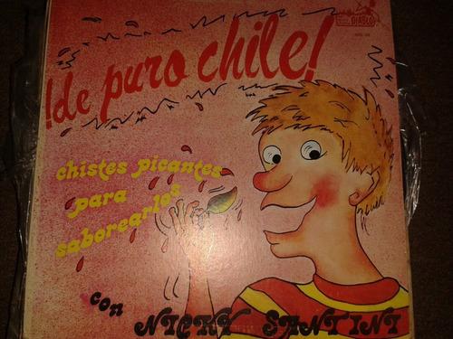 disco acetato: de puro chile