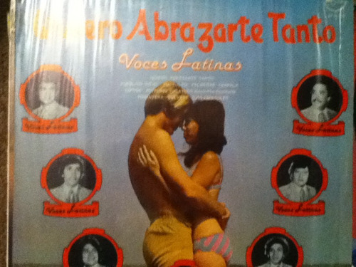 disco acetato de: quiero abrazarte tanto voces latinas