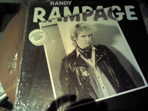 disco acetato de: randy rampage