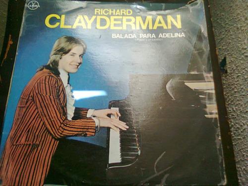 disco acetato de: richard clayderman