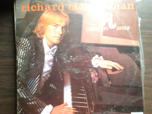 disco acetato de richard clayderman como en amor