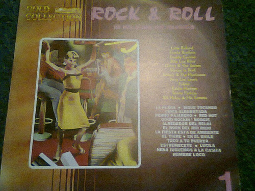 disco acetato de rock & roll