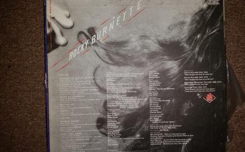disco acetato de: rocky burnett