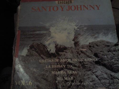 disco acetato de santo y johnny vol.6