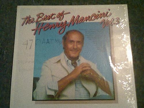 disco acetato de the best of henry mancini