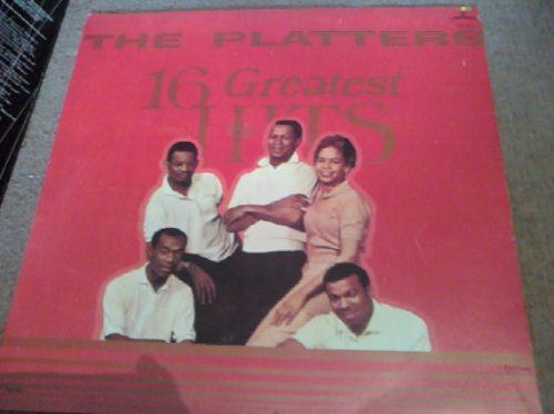 disco acetato de the platters 16 greatest hits