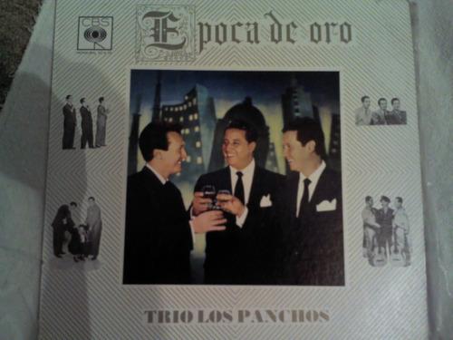 disco acetato de: trio los panchos