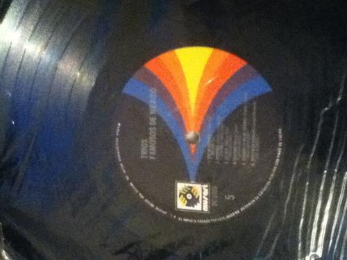 disco acetato de: trios famosos de mexico