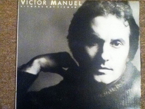disco acetato de: victor manuel