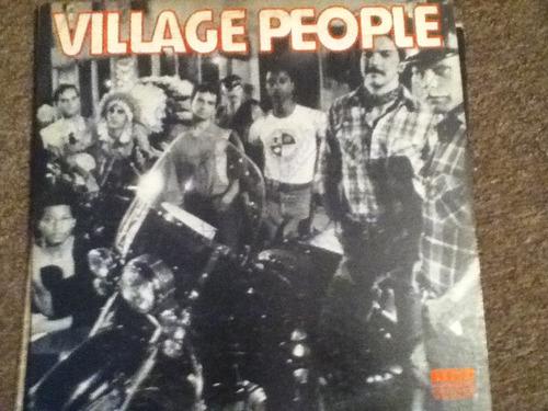 disco acetato de: village people