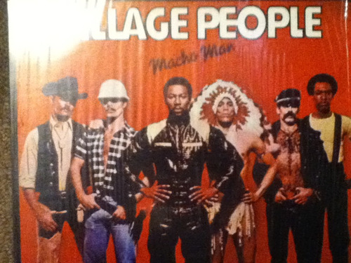 disco acetato de: village people macho man