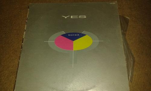 disco acetato de yes, 90125