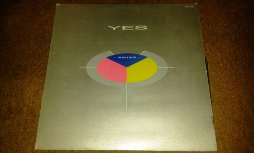 disco acetato de yes, 90125