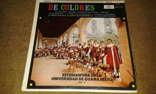 disco acetato de:estudiantina de la universidad guanajuato