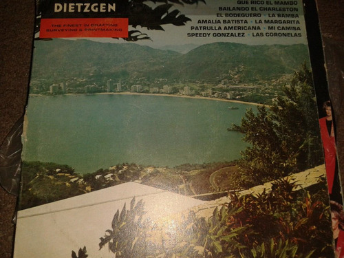 disco acetato: dietzgen