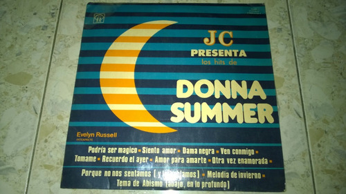 disco acetato donna summer