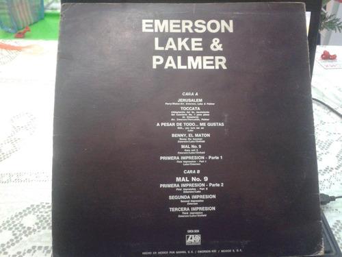 disco acetato emerson lake & palmer