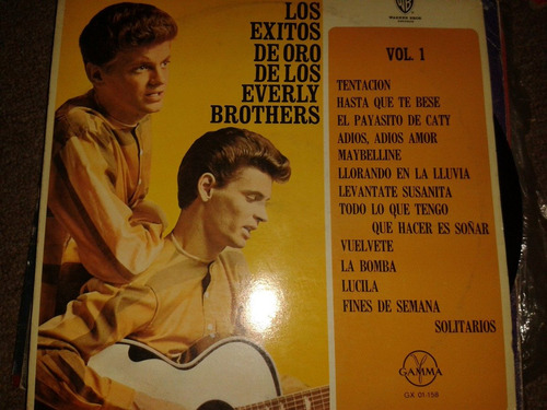 disco acetato: everly brother