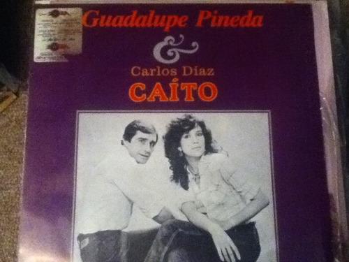 disco acetato: guadalupe pineda & carlos caito