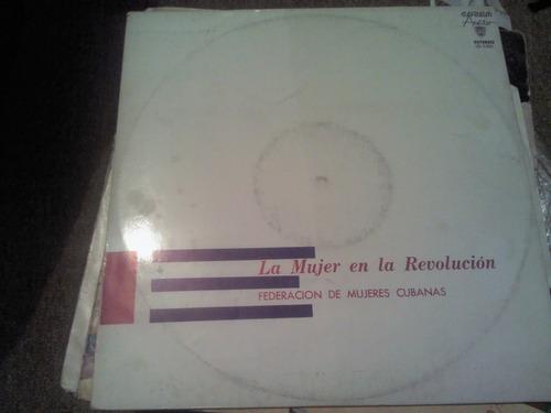 disco acetato: la mujer en la revolucion