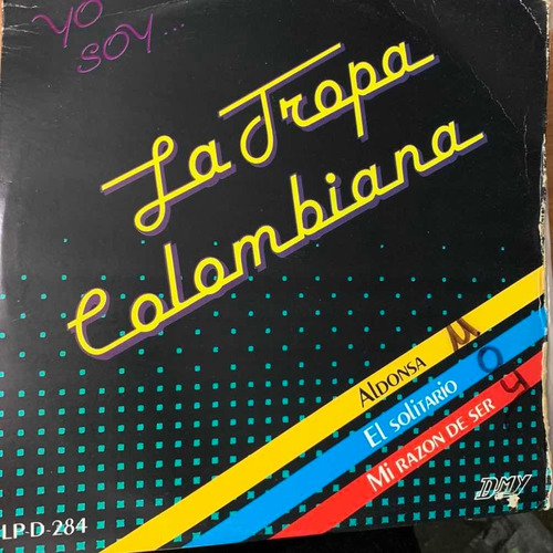 disco acetato la tropa colombiana